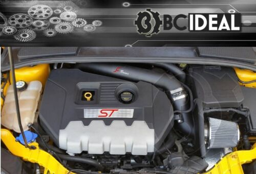 2013 2014 FORD FOCUS ST TURBO AF DYNAMIC CAI HEAT SHIELD AIR INTAKE KIT 10WHP