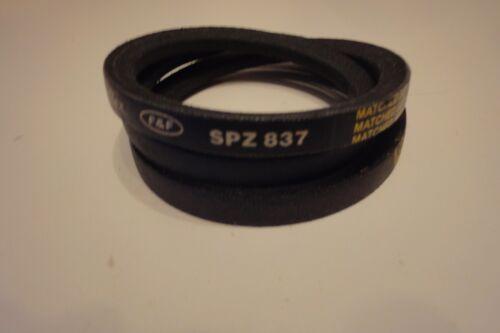 Genuine Pix Cinghia di trasmissione SPZ837 10X8