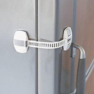1e846364f4b Image is loading BabyDan-Fridge-Freezer-Lock-Cabinet-Latch -Adhesive-Appliance-
