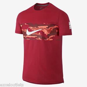 Neuf Avec étiquettes! Nike Practice Crew Tennis Shirt Hommes Sz M 685319 657 (nº 2984)-afficher Le Titre D'origine