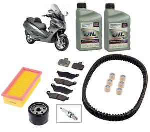Pack-Entretien-Vidange-Frein-Courroie-2-L-Huile-10w40-Gilera-Nexus-500-04-05