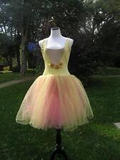 Adult Fairy Ballet Dance Costume Stretch velvet Body Suit Large A wish Come Tru