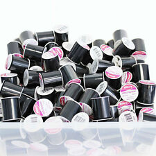 24 Pack Bulk Buy Allary 100% Polyester Thread 200 Yds Black Sewing Threads