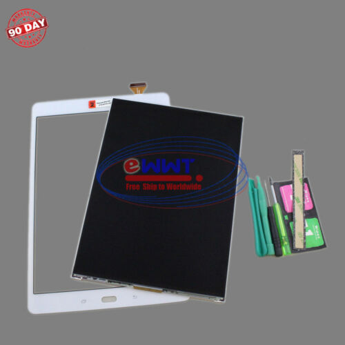 FREE SHIP for Samsung Tab A 9.7 SM-T550 LCD Screen+White Digitizer+Tools ZVZLV96