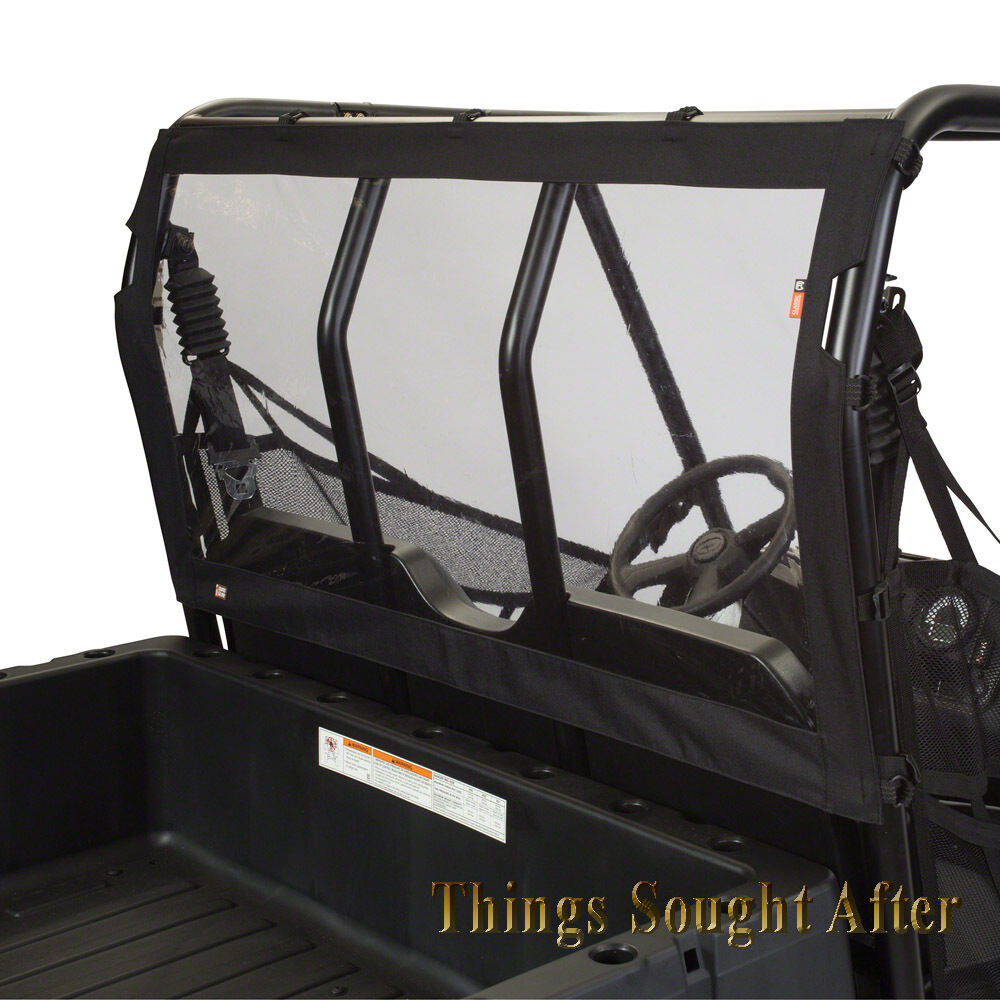 VINYL REAR WINDOW MIDSIZE 2017 POLARIS RANGER 500 570 EFI EPS /& EV /& 570-4 CREW