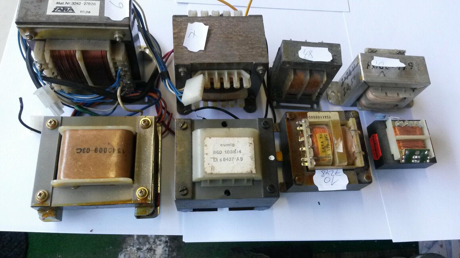 14 diferentes. ¡Transformadores Transformadores en el precio del metal de desecho  Diseños abiertos ca. 15 KILO