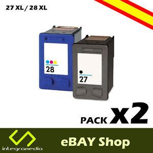 2-Cartuchos-Compatibles-27-XL-Negro-y-28-XL-Color-para-HP-PSC-1315