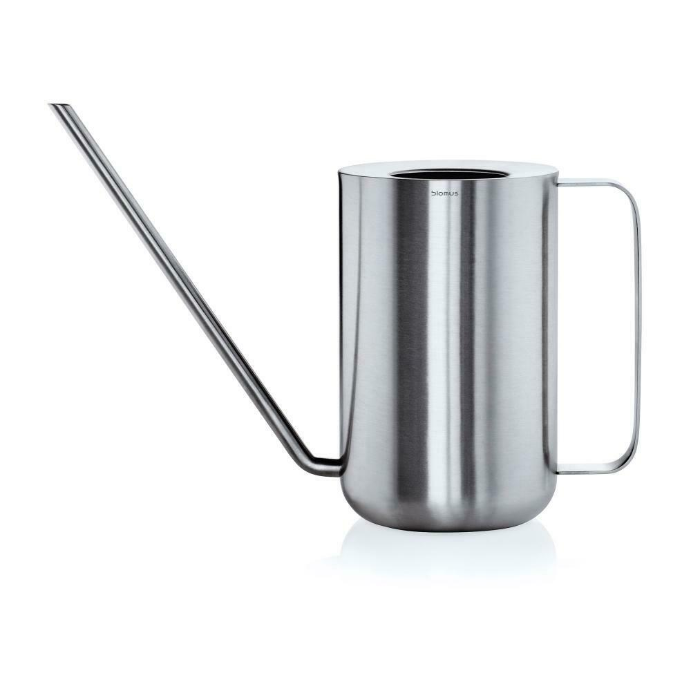 Blomus Planto, Watering Can, Pot, for Flowers and Plants, Stainless Steel, 1.5 L