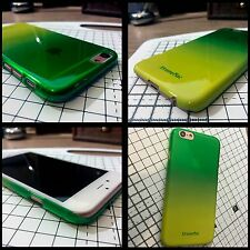 iPhone 6 Extreme Impact Resistant Element Case Micro Thin Hard Shell Green Fade