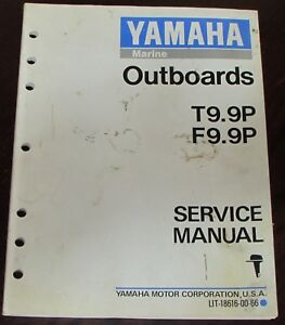 Details about Yamaha Outboards Service Manual for T9 9P F9 9P