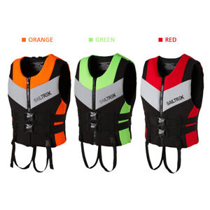 UK Adjustable Adult Life Jacket Vest Sailing Rowing Boat Fishing Buoyancy Aid