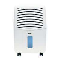 Haier Portable 32-pint 2-speed Mechanical Air Dehumidifier With Drain | Dm32m on Sale
