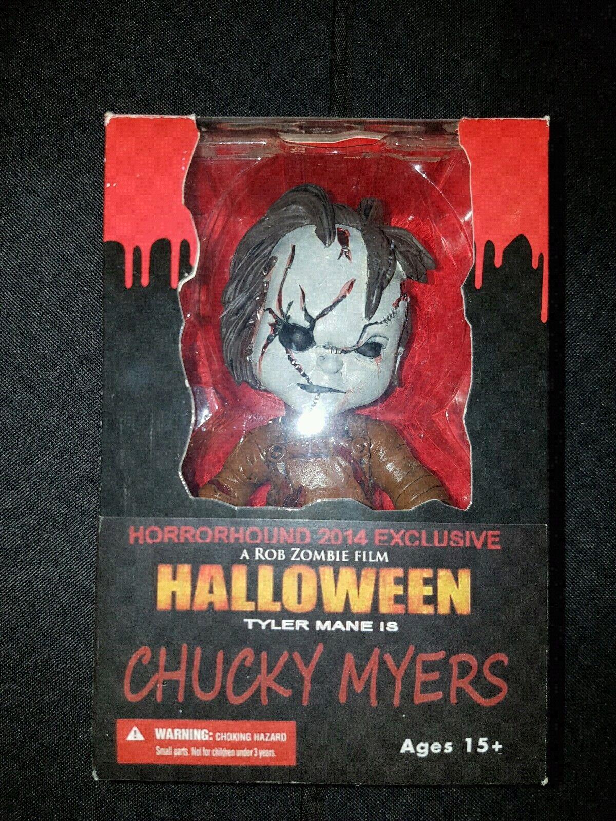 muy raras horrorhound 2014 Exclusivo Figura Chucky Myers     Personalizado De Halloween