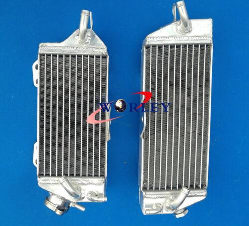 Aluminum Radiator for Kawasaki KX250 KX 250 1990 1991 1992 1993 90 91 92 93