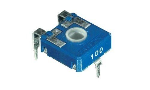 AB//132100 4pz trimmer 14x14 10 KOhm orizzontale regolazione con perno cod