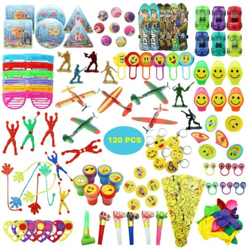 Goodie Bag//Piñata Fillers Party Favor Bulk Assortment Toys for Kids Boys Girls
