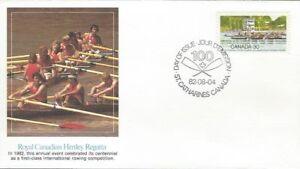 1982-968-Royal-Canadian-Henley-Regatta-FDC-with-Fleetwood-cachet