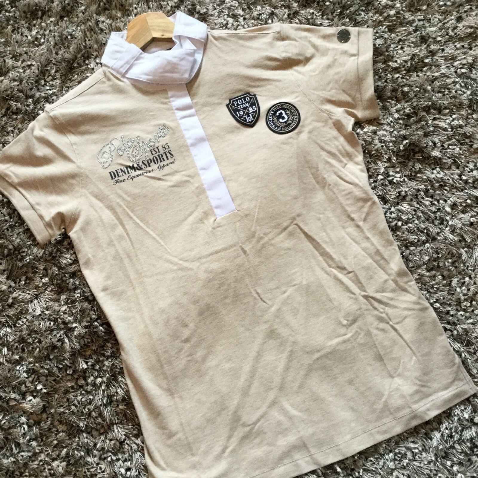 HV POLO SAFFRON Show Shirt Medium Sand