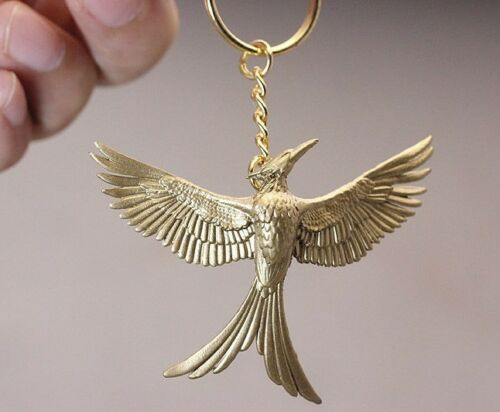 The Hunger Games Mocking Jay Bird PVC Figure Figurine Keychain
