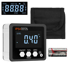 Digital Level Box Protractor Gauge Angle Finder Inclinometer Magnetic Tool Lcd