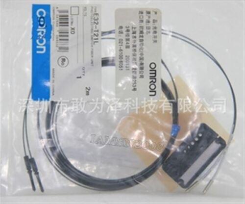 Neue 1 Stücke Omron Lichtschranke Faser Einheit E32-T21L E32T21L cs