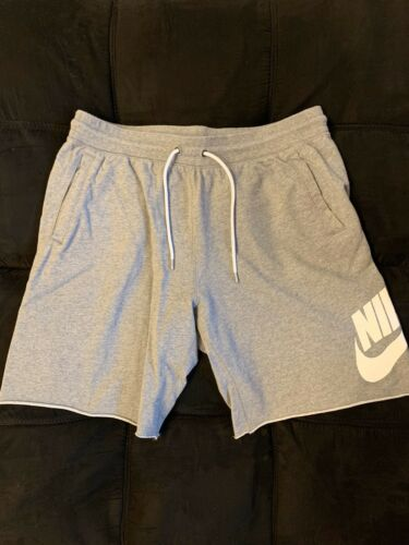 Nike Sweat Shorts Gray XL