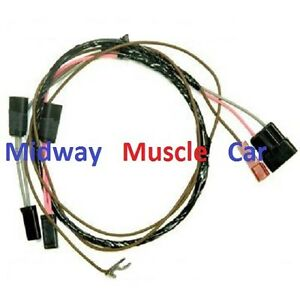 tachometer wiring harness 66 chevy chevelle el camino