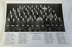 Jan-1967-B-W-photo-OFFICER-amp-CIVILIAN-STAFF-FACULTY-DEFENSE-INFORMATION-SCHOOL