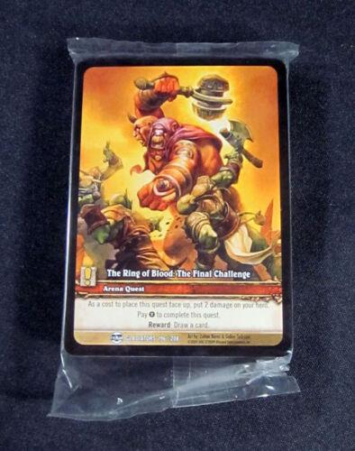 World of Warcraft WoW TCG TROB Final Challenge Gladiator Promo Quest Com 25