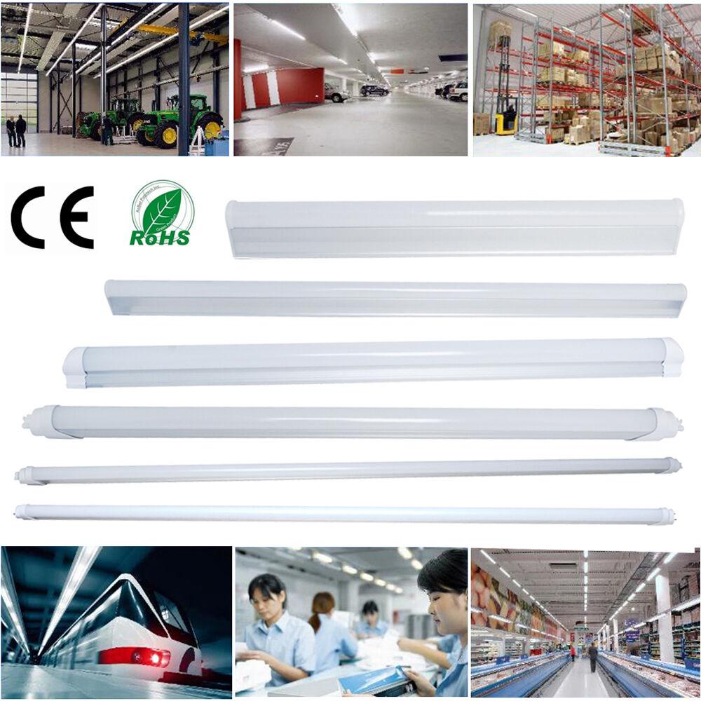 LED 1-4 ft. Foot T5 T8 5-24W Tube Light Fluorescent Replacement Lamp 3500K 6500K