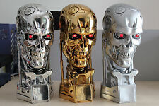 Terminator T800 1/1 Life-Size Head Endoskull Figure Statue Replica Collectibles