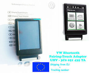 vw bluetooth touch adapter 3c0051435ta orginal genuine oe. Black Bedroom Furniture Sets. Home Design Ideas