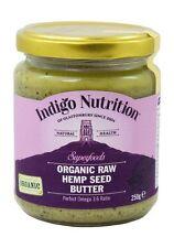 Organic Raw Hemp Seed Butter - 250g - Indigo Herbs