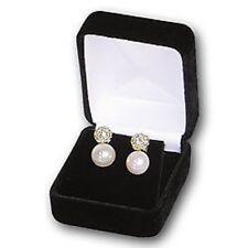 New 48 Black Velvet Large Earring Pendant Jewelry Gift Boxes