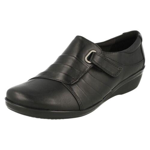 Clarks Foncé Femmes Chaussures Luna Décontracté Everlay Marron Noir Ou Cuir f0d1qxw