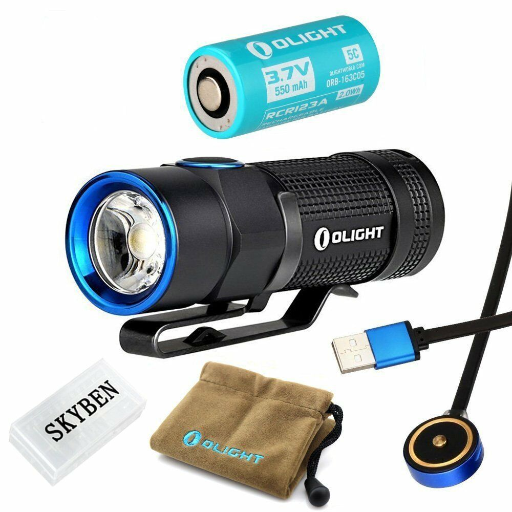 Olight S1R Baton Cree XM-L2 LED 900 Lumens  Rechargeable EDC Flashlight With  online discount