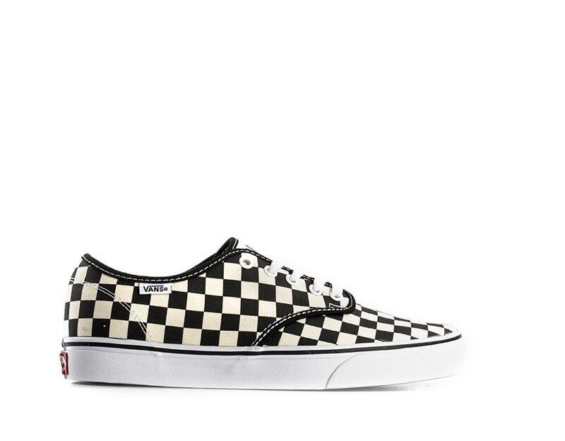 shoes Vans Man black BIANCO Fabric v4j9ipd