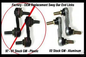 Details about GM C5 Corvette Metal SWAY BAR END LINKS 4 in a Kit LS1