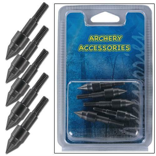 Hunting Target Aluminum 14 inch Arrow Replacement E-Z Pull 5pcs Tip Points