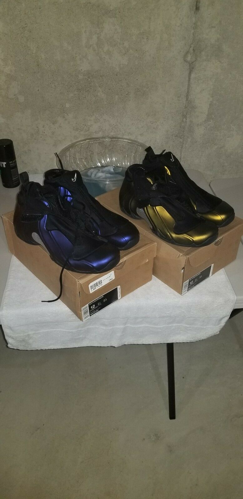 Nike Air Flightposite Pack 2008 Size 12