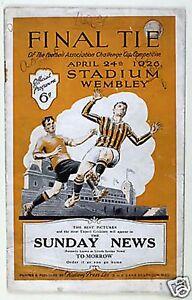 Bolton Wanderers 1926 FA Cup Final Ganadores fútbol Trading Cards