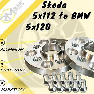 VW 5x100 57.1 Para BMW 5x120 72.5 20mm Hubcentric PCD Adaptadores-Insertos De Acero