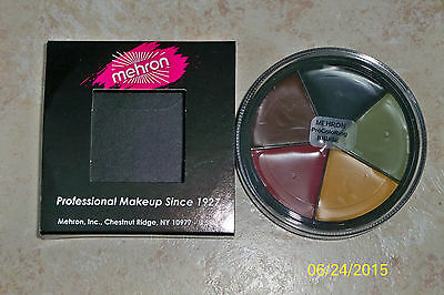MEHRON COLO-RINGS BRUISE MAKEUP WHEEL STAGE FACE PAINT COSTUME MAKEUP DD175