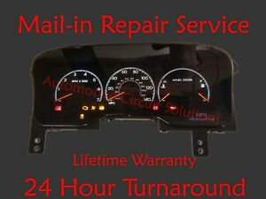 Details about 03-06 Lincoln Navigator Dash Instrument Cluster Odometer  Display REPAIR SERVICE