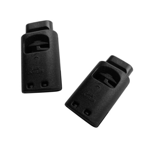 2Pcs Plastic Toggle Spring Clasp Stop Single Hole String Cord Locks 3-5mm