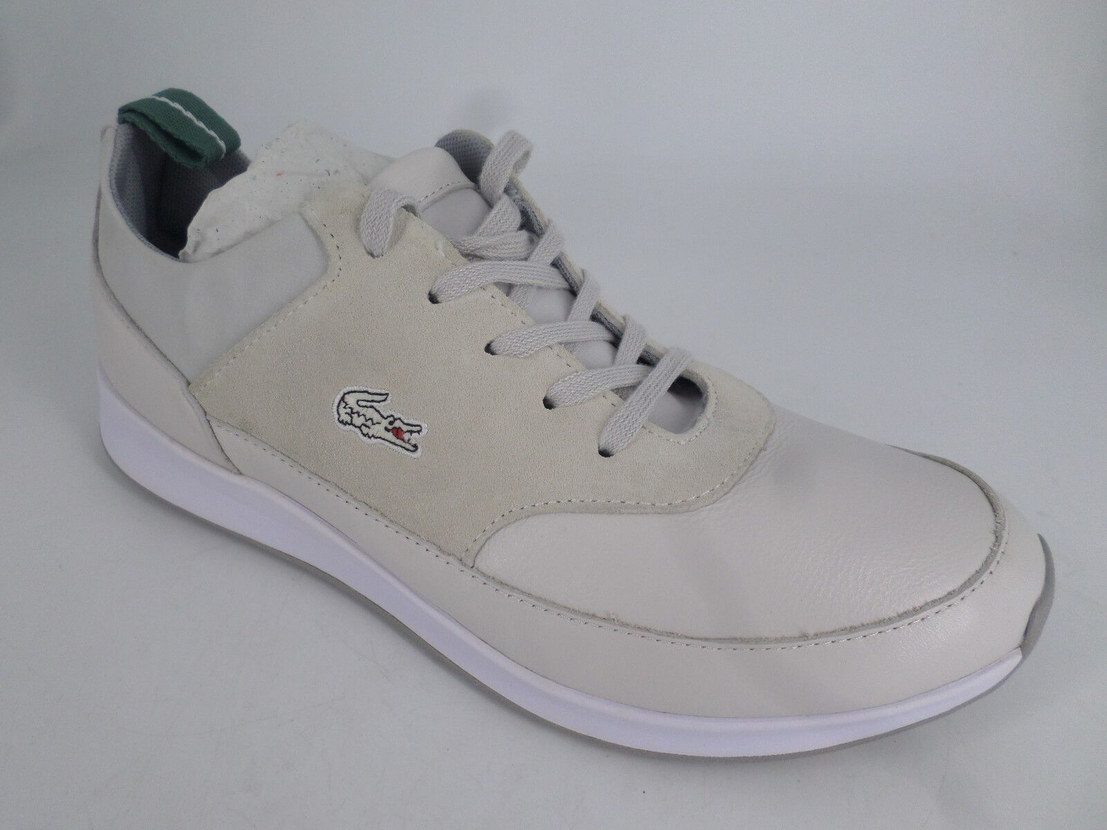 0fe823ce79b1 Lacoste Joggeur Premium Leather suede off White Trainers UK 5 EU 38 ...