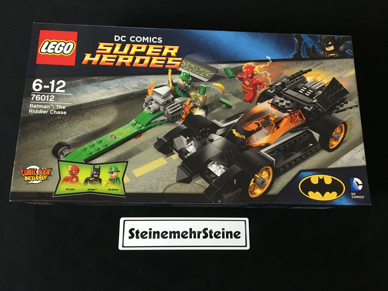 Lego 76012 Super Heroes Batman™ The Riddler Chase The Flash New