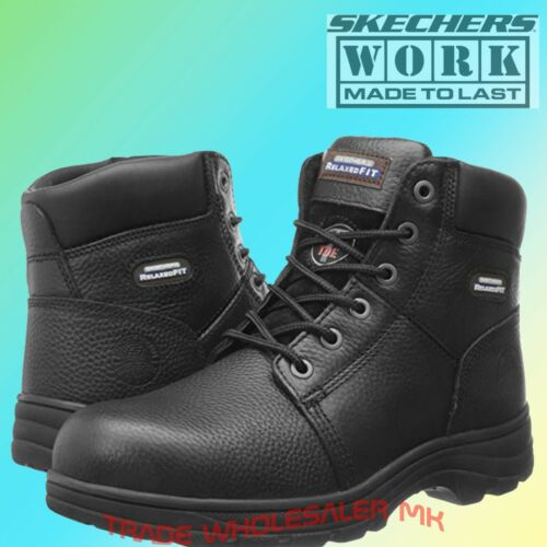 Skechers Work Relaxed Fit Clothing, Shoes & Accessories Workshire St Safety Boots 77009ec Mens Memory Foam