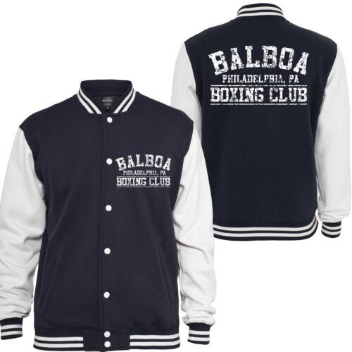 étalon italien Rocky Clubcollegejacke Boxing Kult Rambo Balboa Stallone nW7Y8Rq4w
