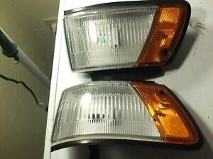 1988-1992-Toyota-Corolla-SR5-All-Trac-Wagon-OEM-Front-Corner-Lamp-Assy-Pair-Set